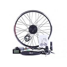 Велонабор колесо переднее 26 с дисплеем 500W