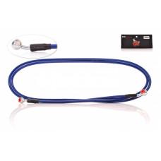 """Шланг тормозной гидравлический армированный, 2300mm, синий """"CK"""""""
