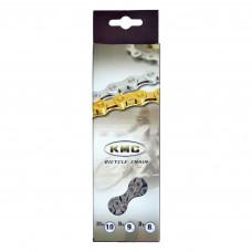 цепь KMC X9 1/2х11/128х116L сріб/сріб, 9шв.