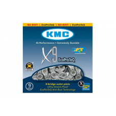 Цепь KMC X9-EPT 1/2х11/128х116L, 9шв.