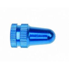 Колпачок на нипель schrader синий уп 2 шт