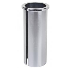 Адаптер подседельной трубы 27.2мм в отв. 28.6мм, алюм.