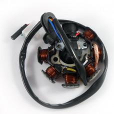 Генератор 6+2 катушек, 4 контакта (4T GY6 50)