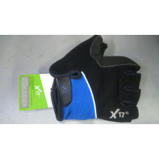 Велоперчатки XGL-511 тёмный синий/черный