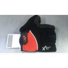 Велоперчатки ХGL-511 красный/чёрный