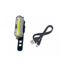 Фонарь передний вело JY-6055F USB перезаряжаемый