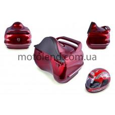 Кофр (красный) (+шлем) Мерседес