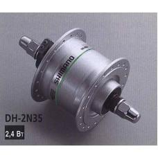 Втулка передняя DH-2Т35 динамо 6V2,4W, серебр.