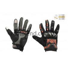 Перчатки SCOYCO (mod:MC-20, size:L, красные, текстиль)