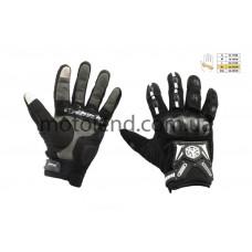 Перчатки SCOYCO (mod:MC-20, size:XL, черные, текстиль)