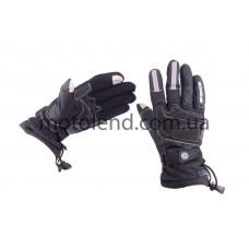 Перчатки SCOYCO (size:L, черные, текстиль)