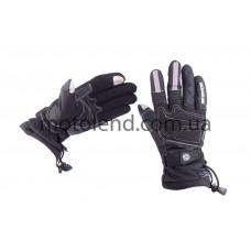Перчатки SCOYCO (size:M, черные, текстиль)